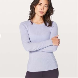 Lululemon feeling balanced merino wool sweater